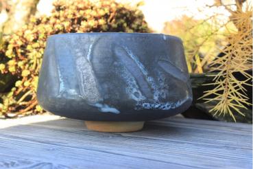 Chawan Steinzeug Japanische Gosu-Engobe 4590