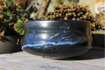Chawan Steinzeug Japanische Gosu-Engobe 4598