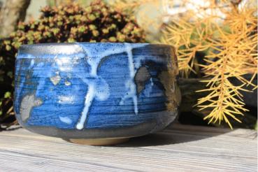 Chawan Steinzeug Japanische Gosu-Engobe 4599