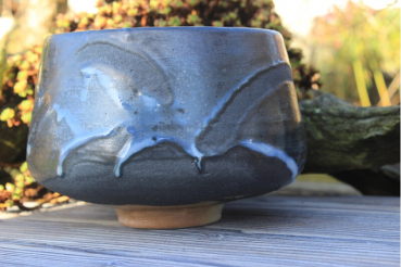 Chawan Steinzeug Japanische Gosu-Engobe 4600
